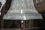 Cloche de l'église à Saint-Justin, les Landes