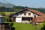 Ferme basque à Urrugne, Pyrénées-Atlantiques