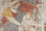 Peinture monumentale du château de Saint-Sauveur à Laffite-sur-Lot, Lot-et-Garonne