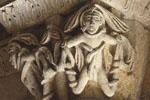 Abbaye de la Sauve-Majeure (détail d'un chapiteau), Gironde