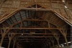 Charpente de l'usine Soferty à Bordeaux, Gironde