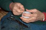 À chaque « spécialité » sa pelote, dont les matériaux, le diamètre et le poids varient.