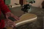 Fabrication d'une pala.