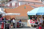 Marché dominical, fronton de Ciboure, Pyrénées-Atlantiques | 4 mai 2014