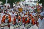 Banda | Défilé vers les arènes de Dax (2010), Landes