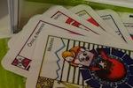 Visuels de certaines cartes du « jóc de 7 camins » | Dens la familha de ... , que demandi...