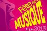 Fête de la musique | Affiche de la Fête de la musique (2013) | Ministère de la Culture et de la Communication