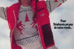 Stéphanie de Monaco dans une publicité Pyrenex de 1981