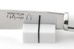 Couteau de table Nontron | Design Olivier Gagnère | Manche en Corian® blanc